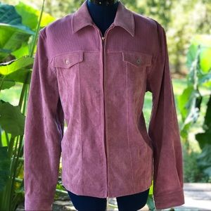 Alfred Dunner | Pink Corduroy Jacket